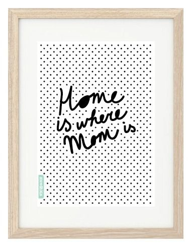 MoodKids Muttertag Home is Mom