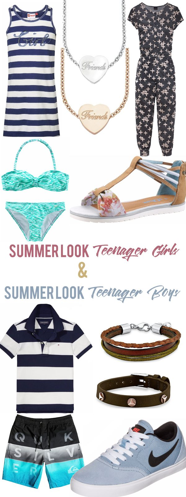 Otto Sommer Outfits Summer Look Teenager Girls & Boys