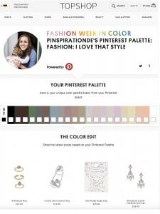 Pinspiration Pinterest Color Palette
