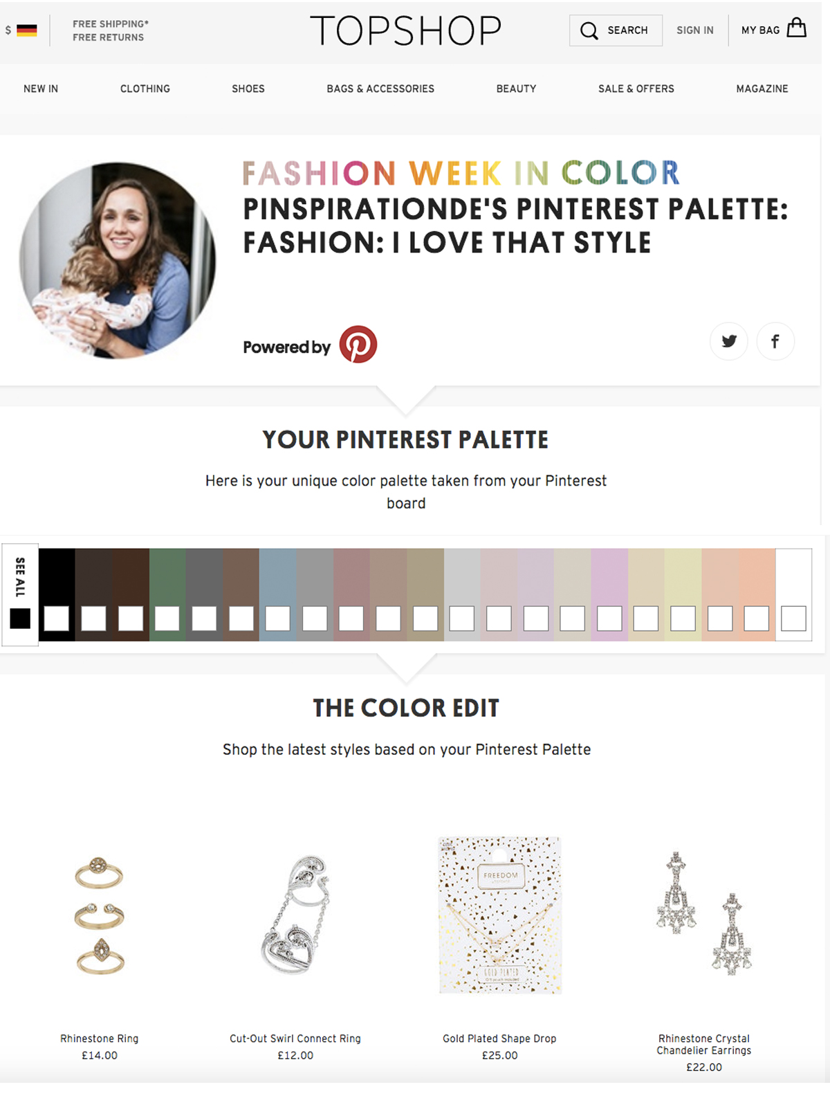 Pinspiration Pinterest Color Palette