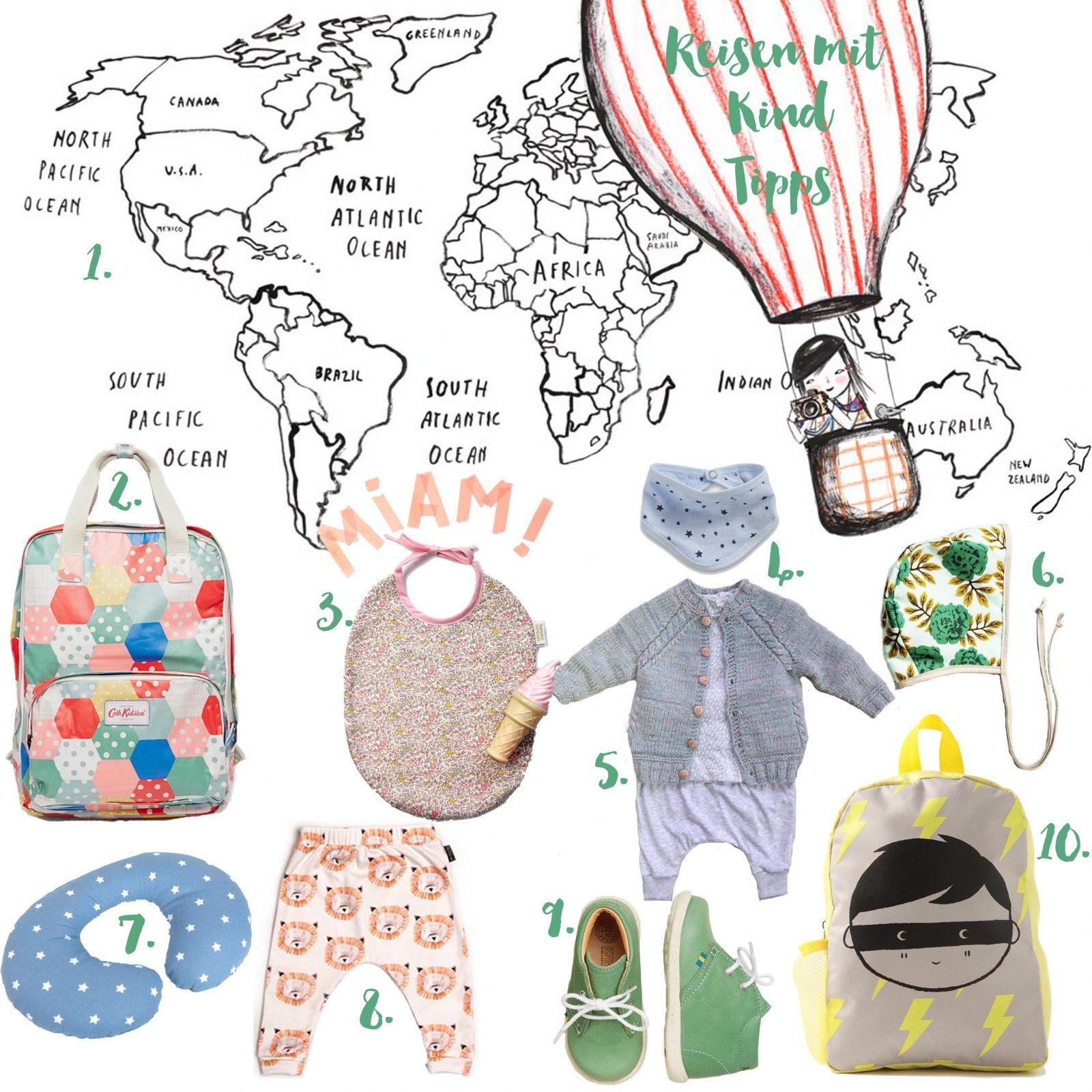 Pinspiration Reisen mit Kind Tipps
