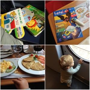 Pinspiration Reisen mit Kindern Bahn Tipps