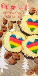 Pinterest Regenbogen Herzkekse Tutorial Test