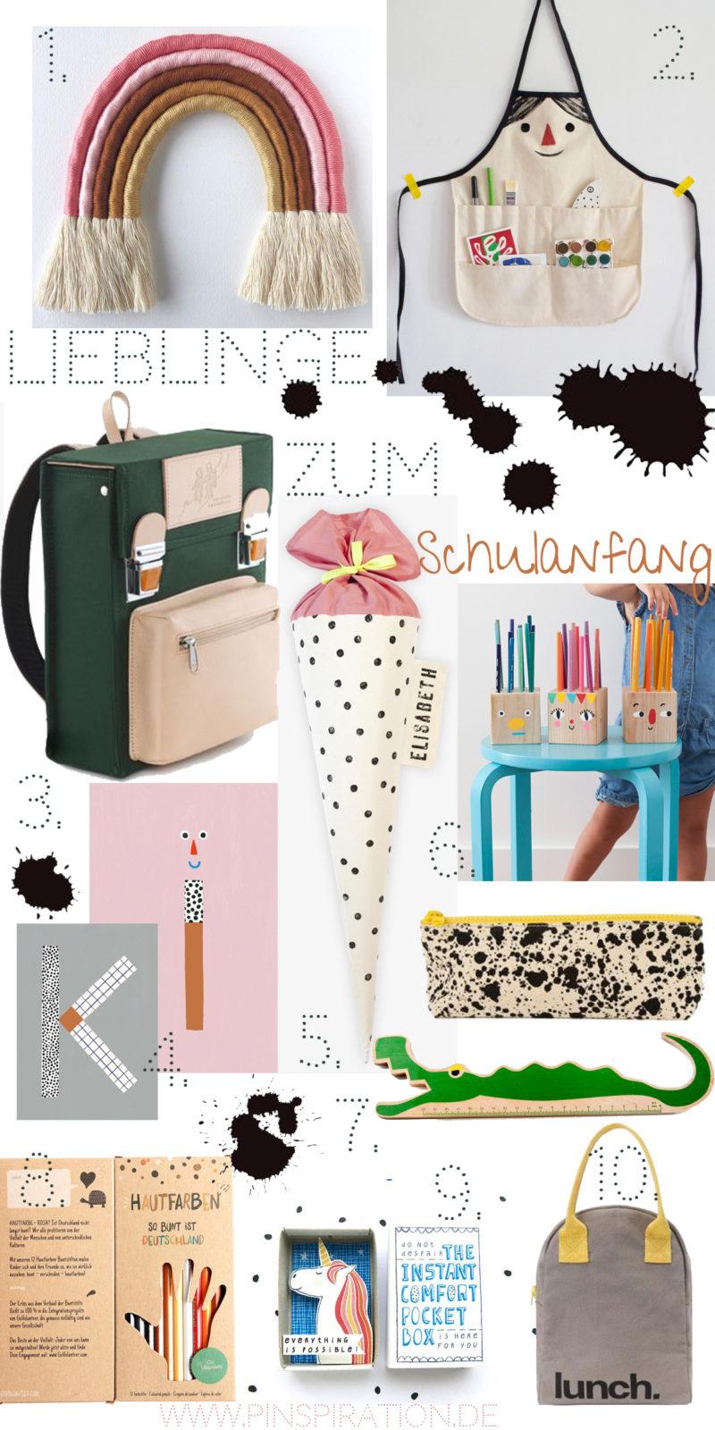 Pinterest Lieblinge zum Schulanfang #Schulanfang #Schulstart #Backtoschool #Pinterest #Pinspiration | Pinspiration.de