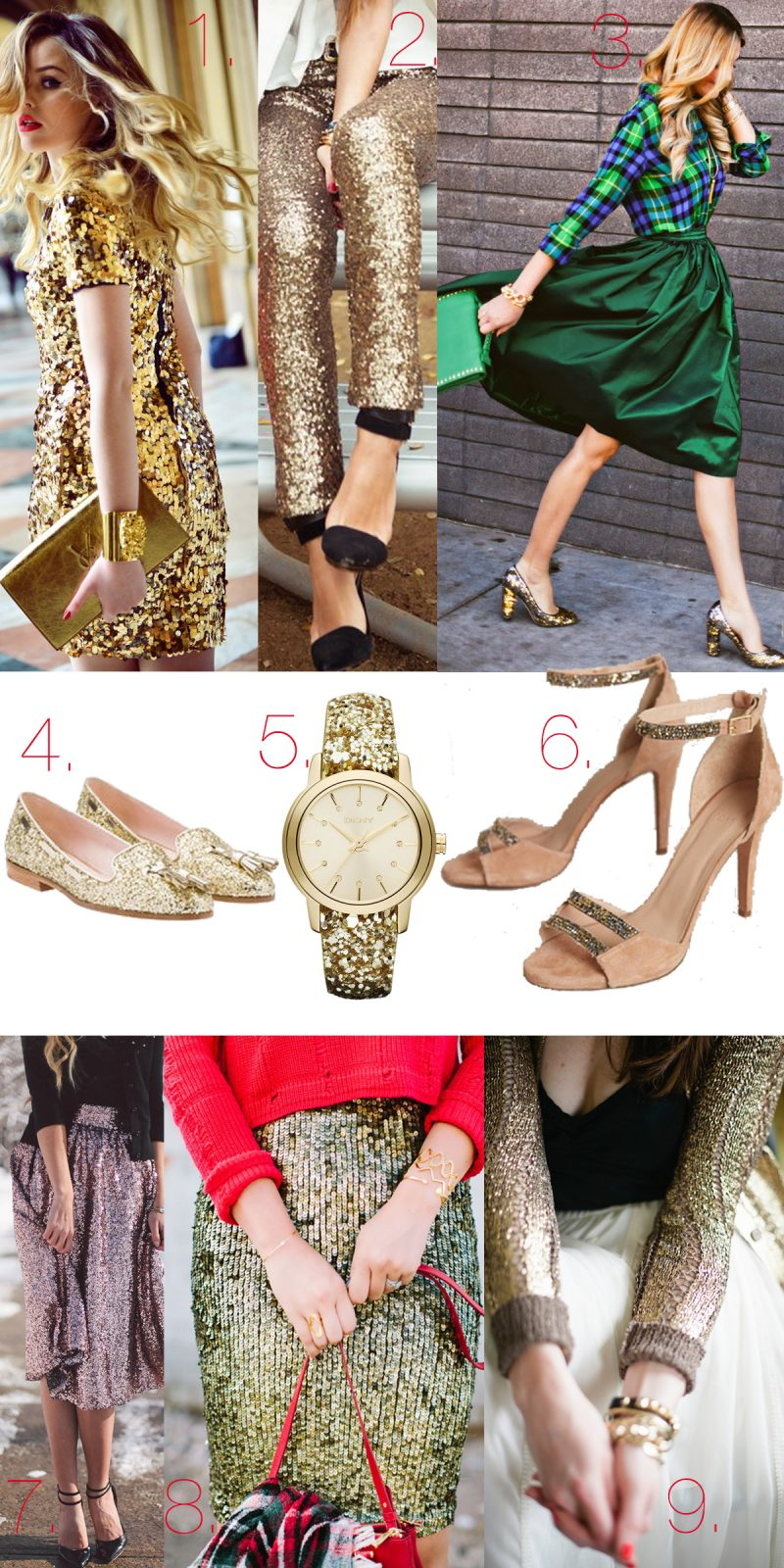 Silvester Outfits und Accessoires
