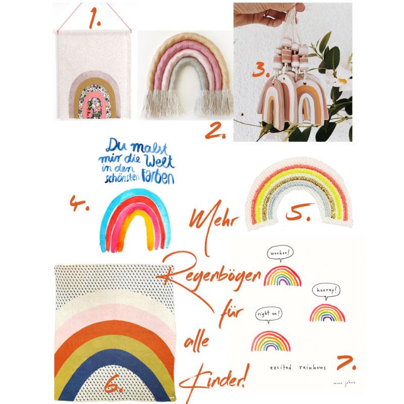 Weltkindertag oder wir können nie genügend Regenbögen im Leben haben!   #Weltkindertag #Kindertag #Regenbogen #Kinderzimmer #Kinderzimmerdekoration #Regenbogenkunst   Pinspiration.de