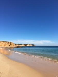 Martinhal Family Beach Resort in Sagres Strand mit Felsen