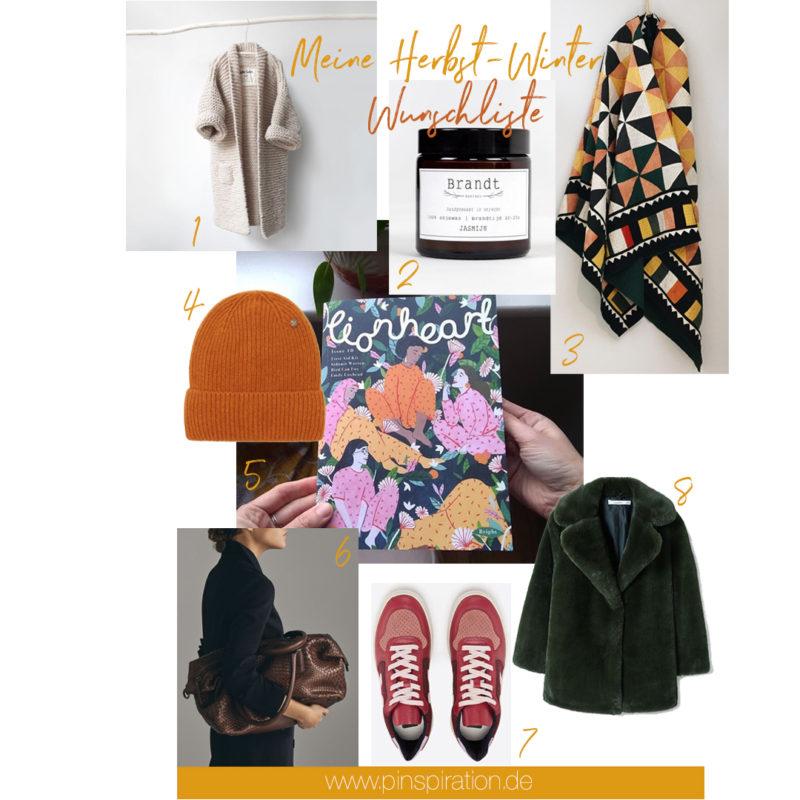 Meine Herbst-Winter-Wunschliste und Geschenkideen für Frauen   Pinspiration.de
