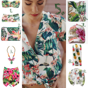 Tropical Trend Collage