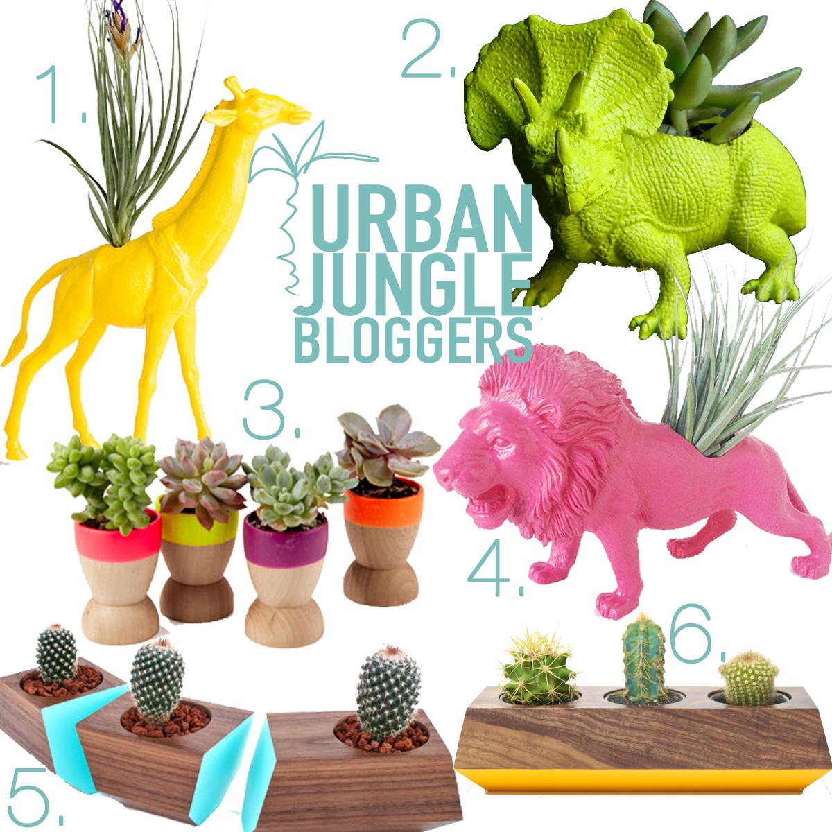 Urban Jungle Bloggers june neon