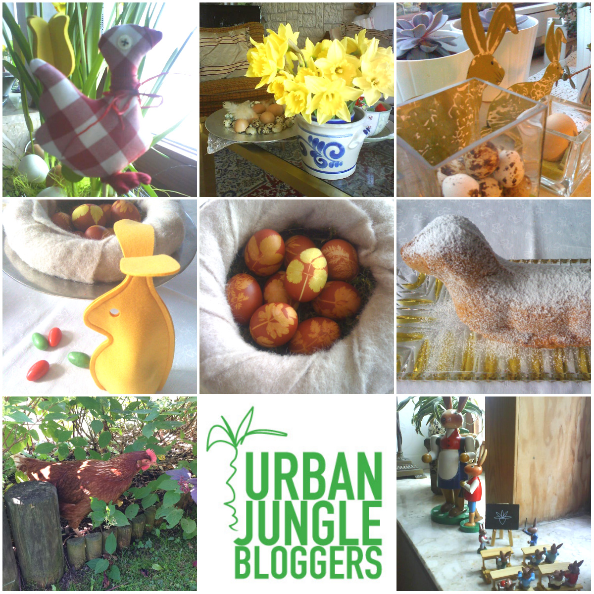 Urban Jungle Bloggers Easter Decoration