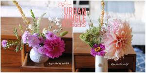 Urban Jungle Bloggers Oh Joy farmer flowers