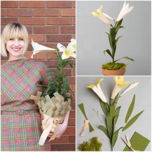 Urban Jungle Bloggers Paper Flowers Brittany Jepsen