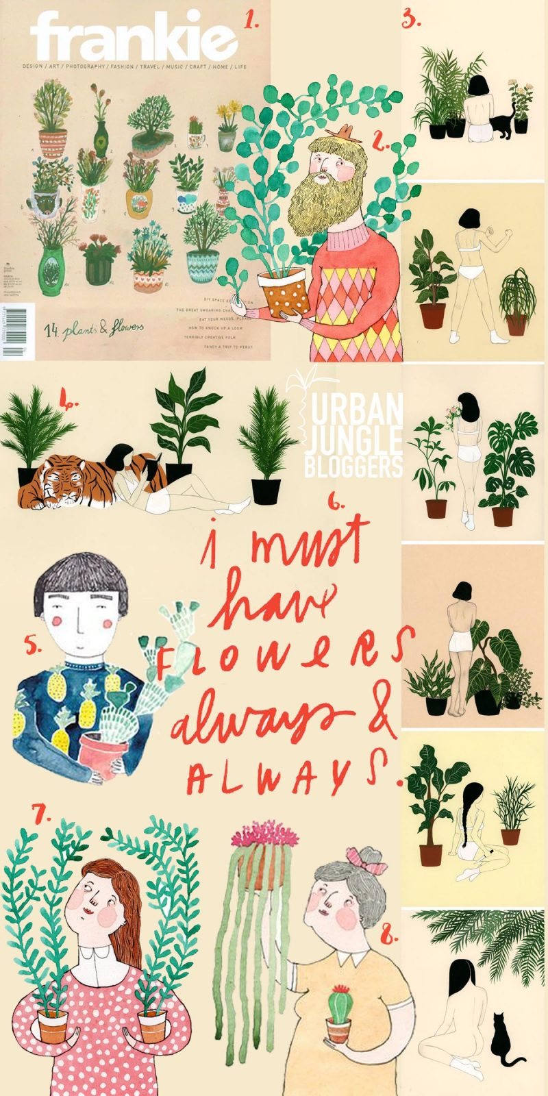 Urban Jungle Bloggers Plants & Art