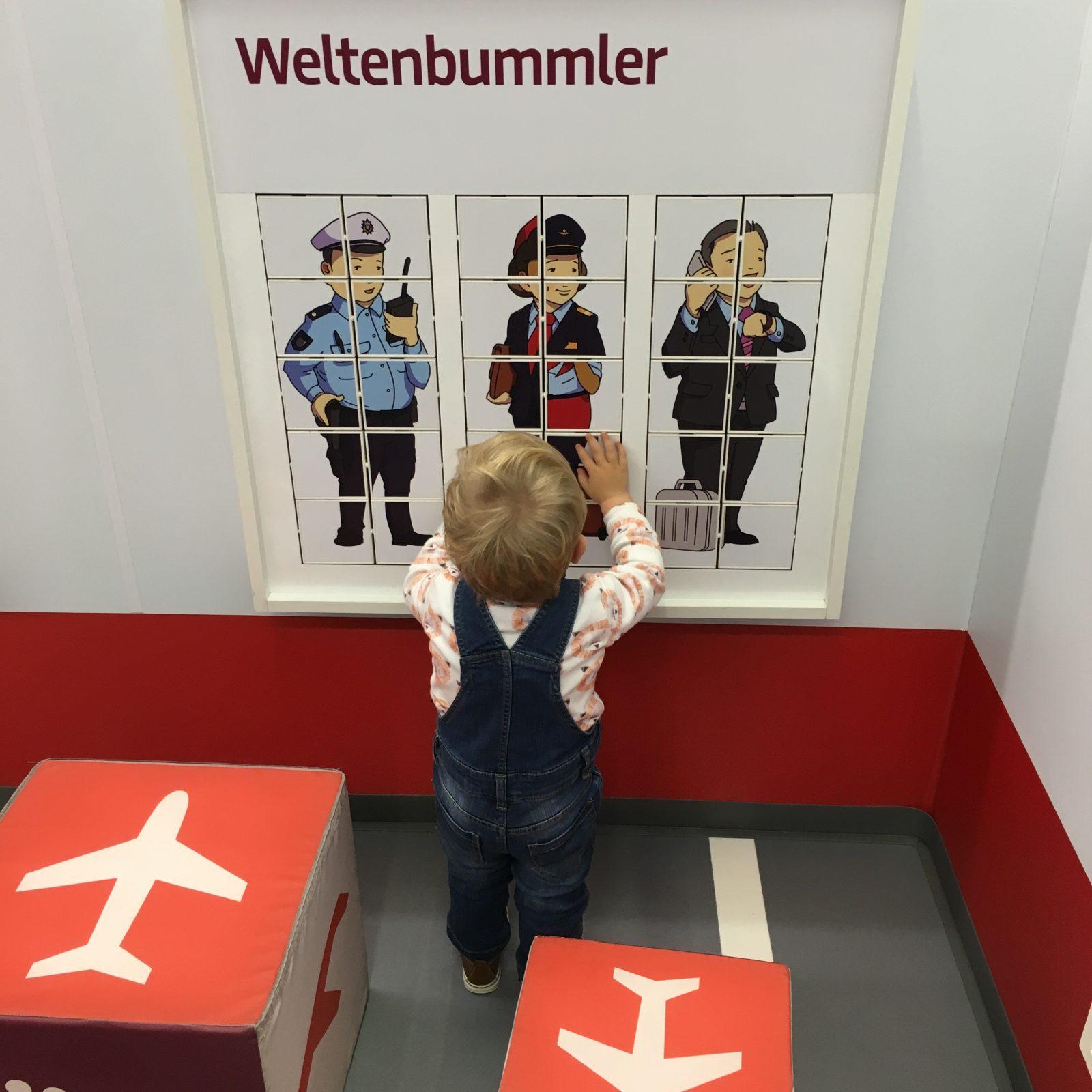 Weltenbummler Air Berlin Spielecke