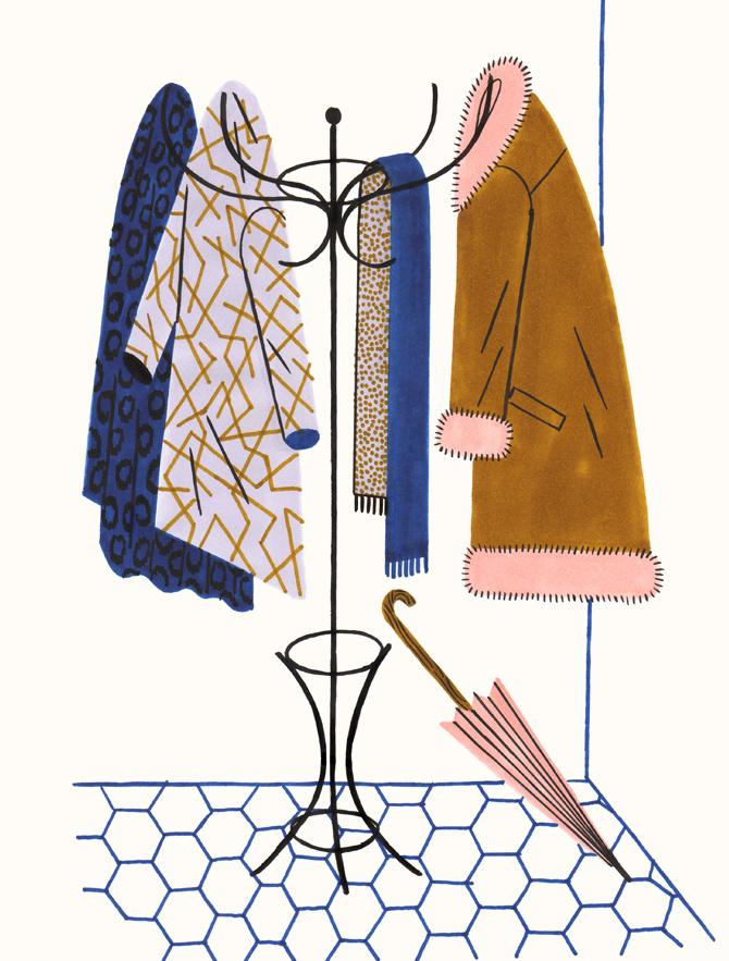 Amelie Fontaine illustration | Pinspiration