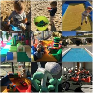 Collage Martinhal Family Beach Resort Sagres Spielecken 2
