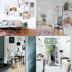 collage Pinner interiors