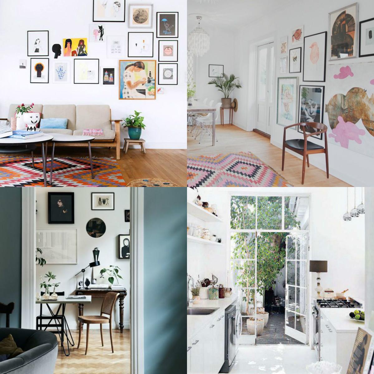collage Pinner interiors