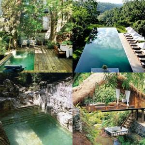 Collage Swimmingpool