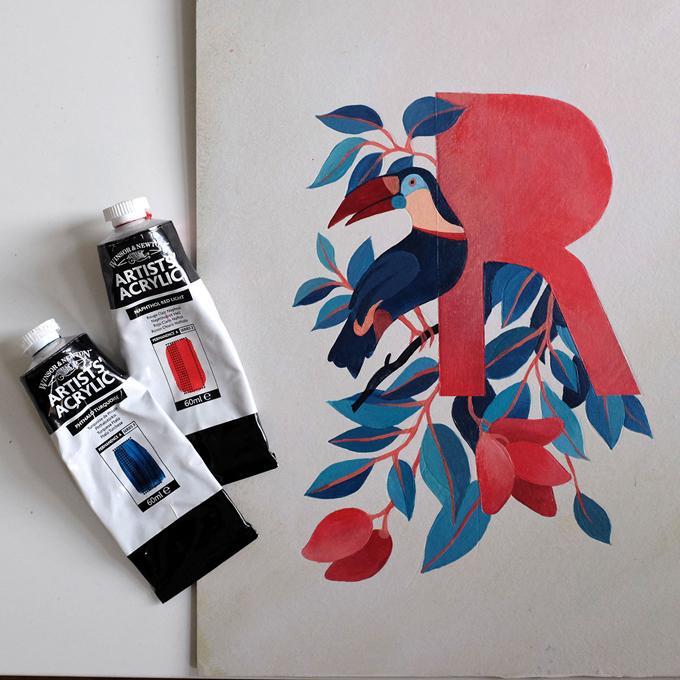 Pinterest Pinner Interview No. 11/16: Sara von Brown Paper Bag Eleonora Kolycheva Letter R | Pinspiration