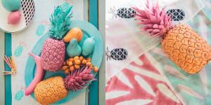 elephantlanding Ananas Collage