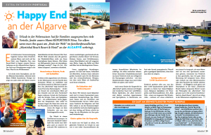kinder Magazin Martinhal Family Beach Resort Sagres