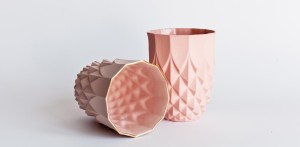 lenneke wispelwey - pineapple pink gold rim