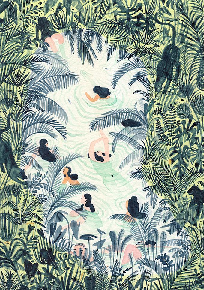 Pinterest Pinner Interview No. 11/16: Sara von Brown Paper Bag Monica Ramos Kunst | Pinspiration