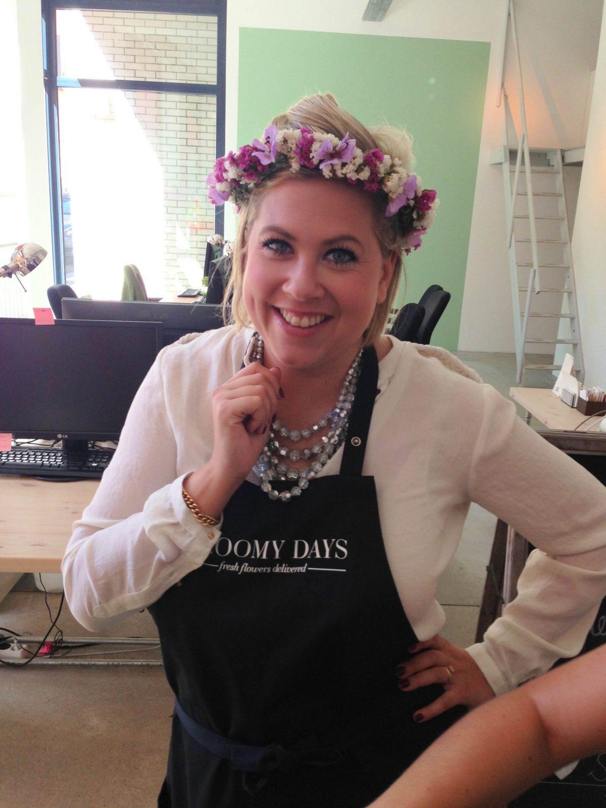 Franziska von Hardenberg, Bloomy Days Gründerin Berlin