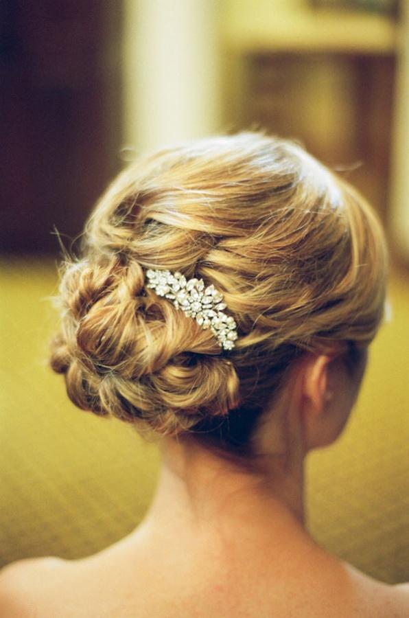 Haarschmuck Brosche, Diamanten Brosche