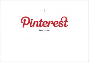 Pinterest Workbook